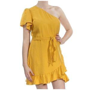 1 State Jungle Boogie Ruffled Dress